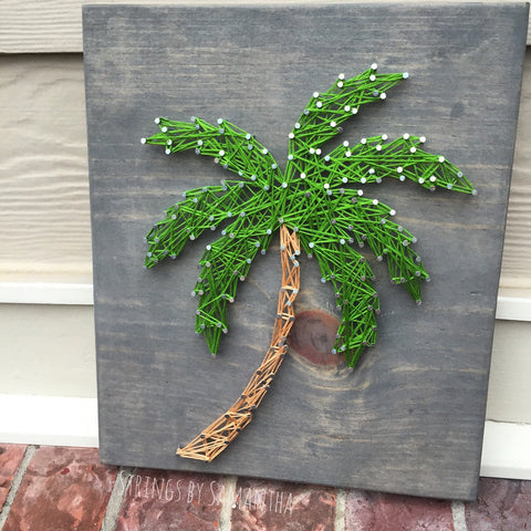 Palm Tree String Art
