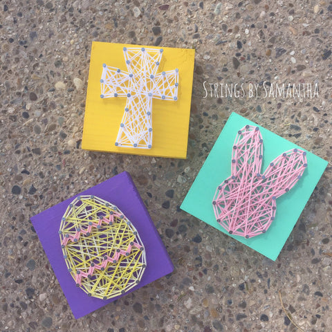 Mini Easter Set String Art