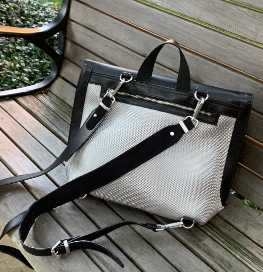 FS Luxe Fold Over Flap Bag