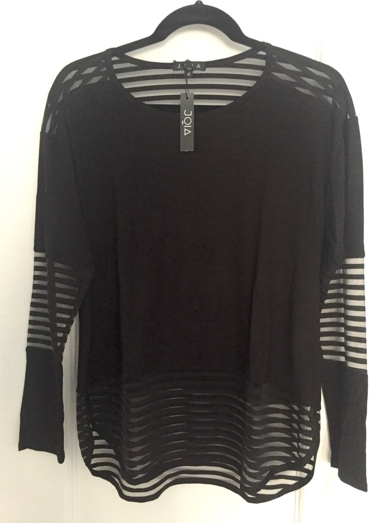 Long Sleeve Mesh with Stripes