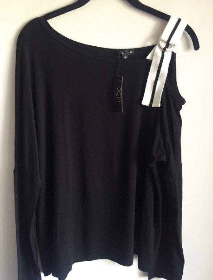 Open Shoulder Long Sleeve