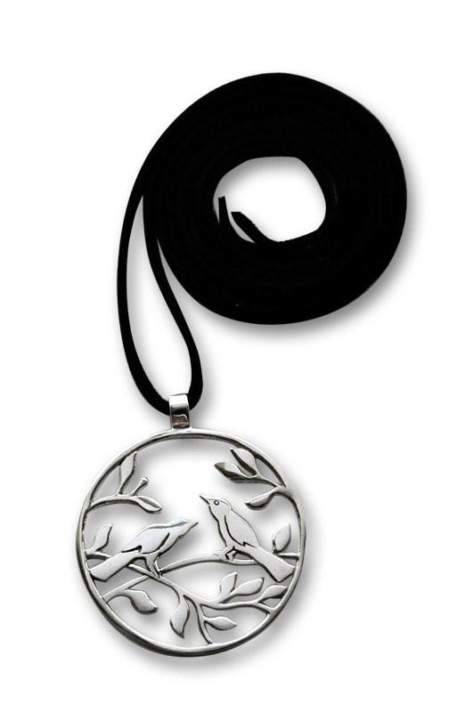 Lovebirds Pendant