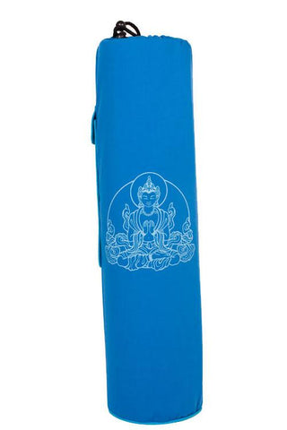 Yoga Mat Bag Navy Buddha