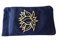 Eye Pillow Black Lotus Foil