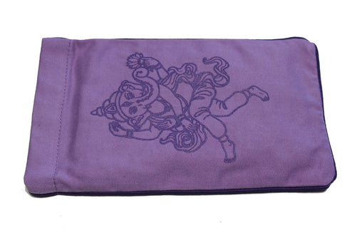 Eye Pillow Lilac Ganesha Purple