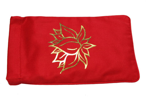 Eye Pillow Red Lotus Foil