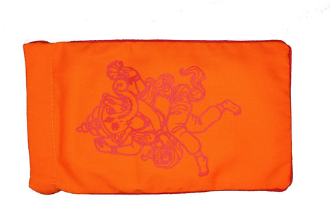 Eye Pillow Orange Ganesha Red