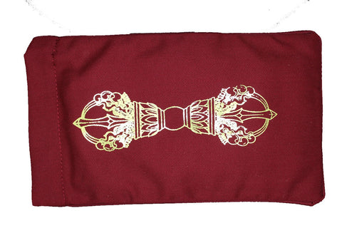 Eye Pillow Burgundy Dorje Foil