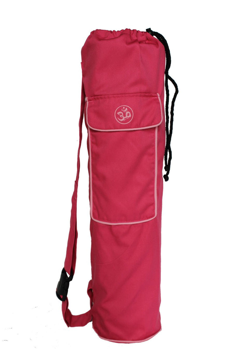 Yoga Mat Bag Pink Lotus