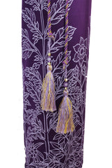 Yoga Mat Bag Secret Garden Collection Purple/Lilac