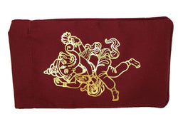 Eye Pillow Burgundy Ganesha Foil