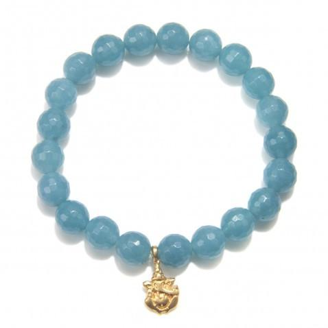 Angelite Guidance Bracelet bg70a-86b