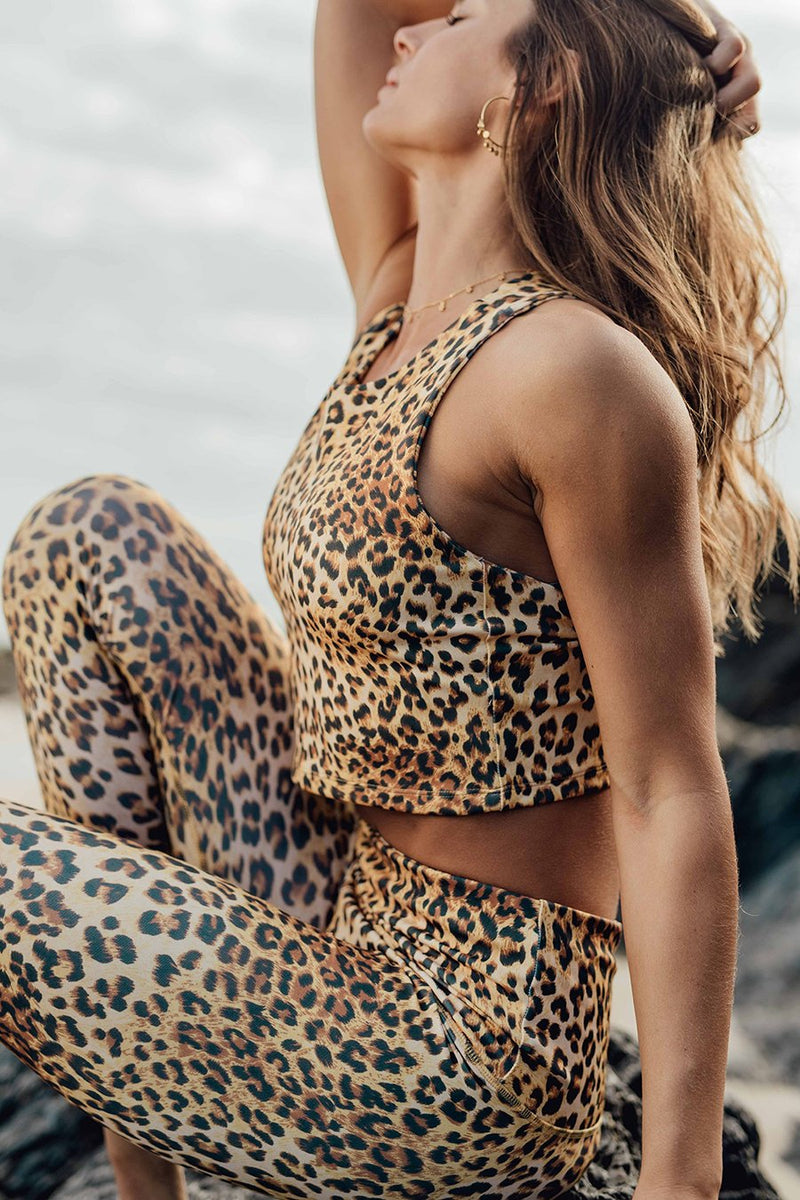 Roar Eco Friendly High Waist 7/8 Leggings DGP39