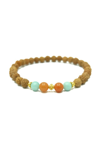 B-M562 Amazonite Red Aventurine