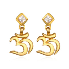 Om Topaz Earrings CEG1-52