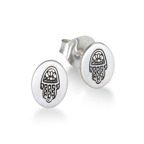 Hamsa Earrings CES061-HAM