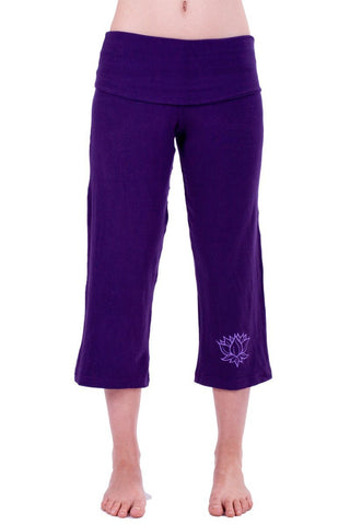 Goddess Pants 3/4 Length Lotus