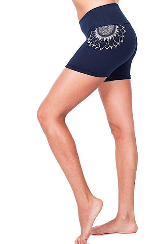 Hatha Hotpants Sunflower