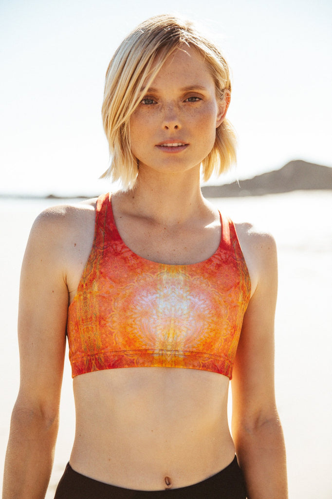 Ahimsa Crop Sundari Sunset DGT23