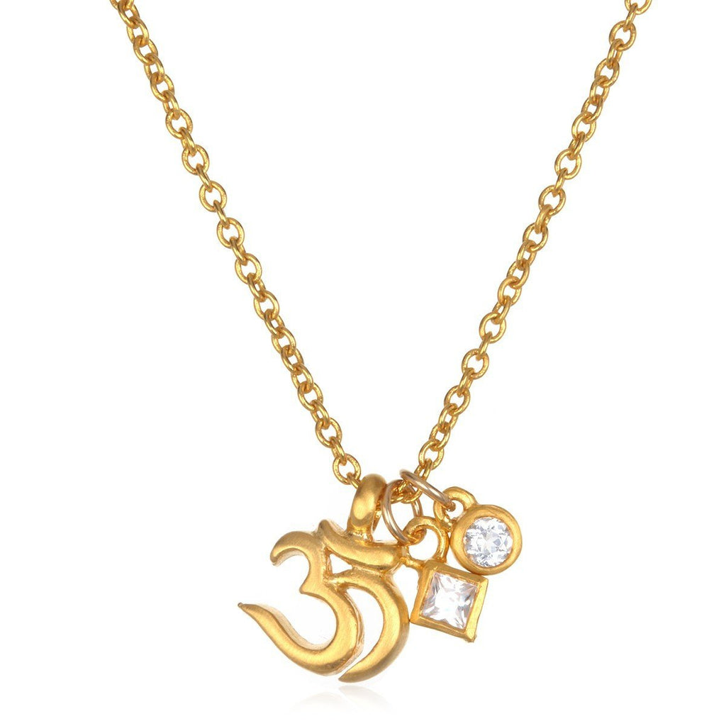 Gold Light Ohm Necklace cng-14-52-l16