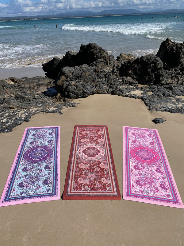Eco Luxe Magic Carpet Paisley Earth