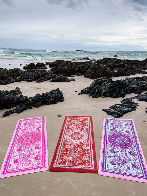 Eco Luxe Magic Carpet Paisley Pink