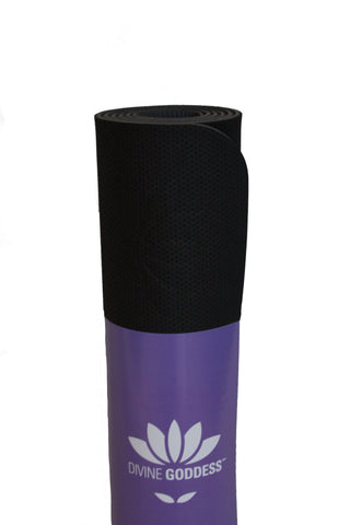 Eco Lite Yoga Mat Black/Grey