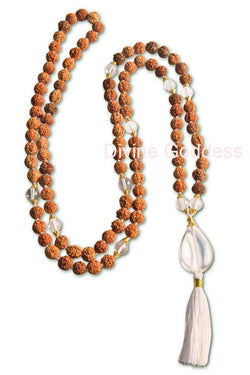 Rudraksha Mala Light Filled Love
