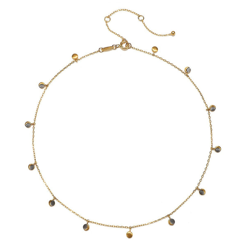 Eternal Transition Necklace NG064-moon-L14