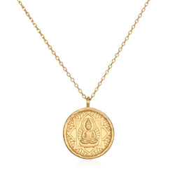Inner Peace Necklace NG103-bud-L18