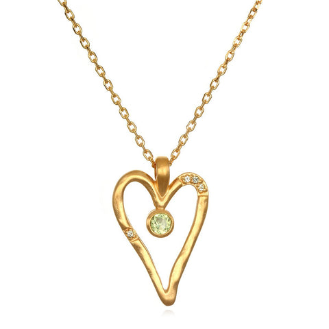 Aligned in Love Necklace NG6-HRT-L18