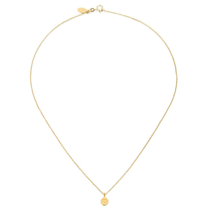 Gold Mini Heart Necklace ng737-l18