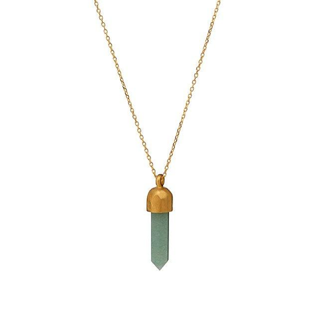 Aventurine Crystal Necklace NGC1-18-L18