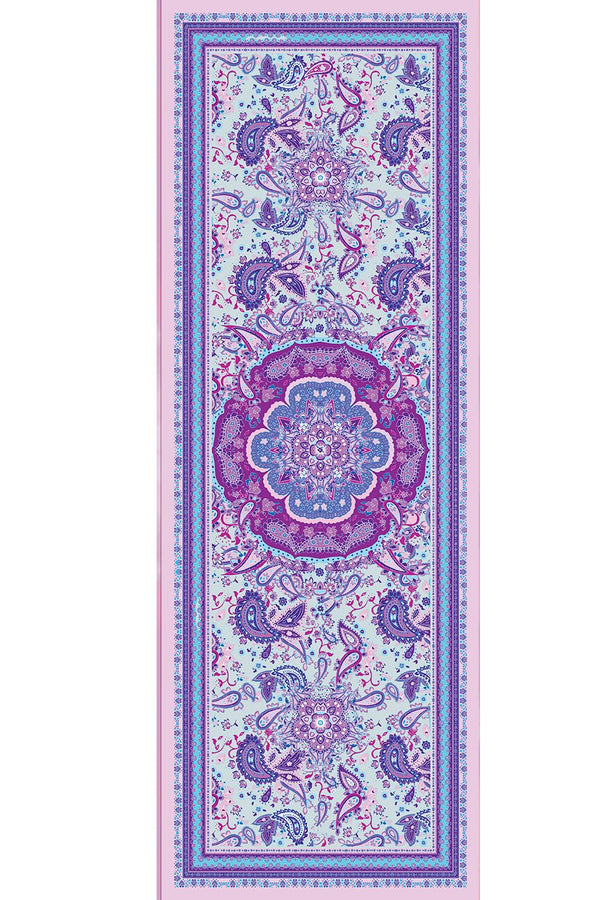 Eco Luxe Magic Carpet Paisley Turquoise