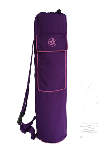 Yoga Mat Bag Purple Lotus