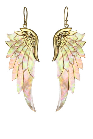 Bronze Rainbow Wings Small Rose Gold