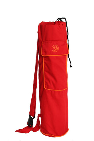 Yoga Mat Bag Red Shiva Manadala
