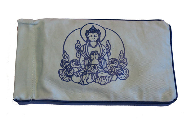 Eye Pillow Aqua Buddha Navy