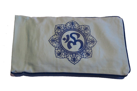 Eye Pillow Aqua Shiva Mandala Navy