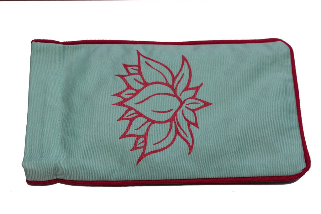 Eye Pillow Aqua Lotus Pink