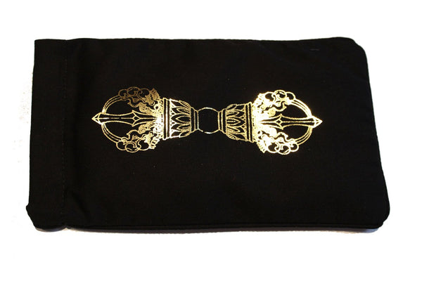 Eye Pillow Black Dorje Foil