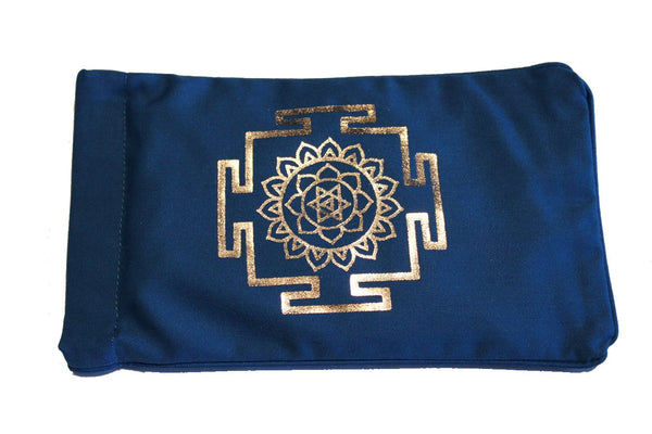 Eye Pillow Navy Yantra Foil