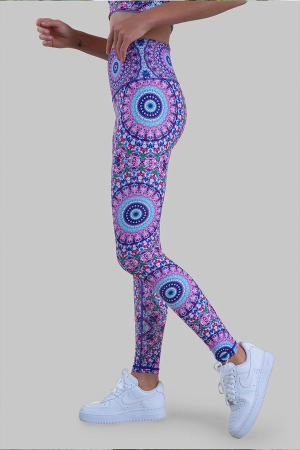 Chakra Recycled Plastic Leggings Wolven