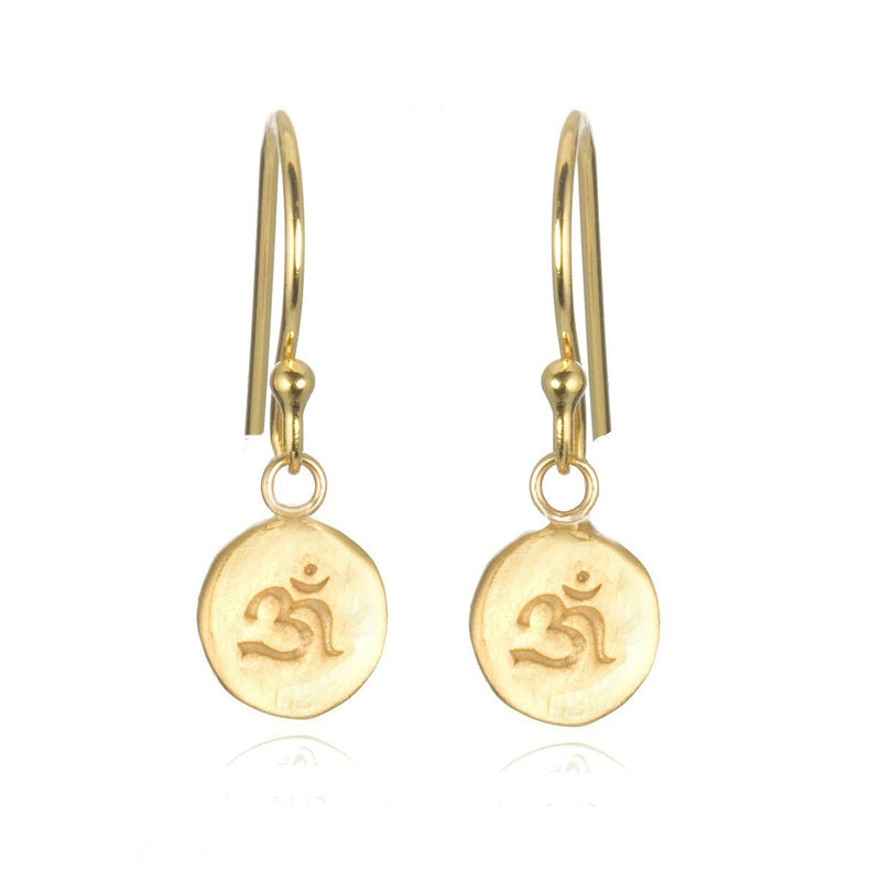 Gold Mini Ohm Earring eg285