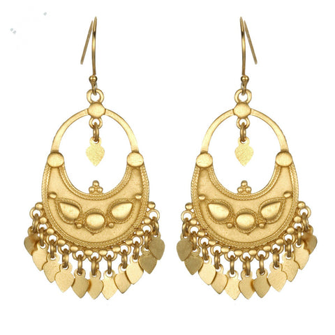 Gold Chandelier Earrings eg30-b