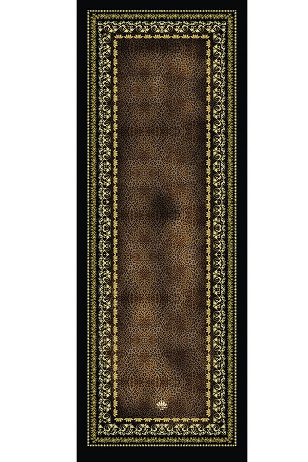 Yoga Towel Leopard Chocolate