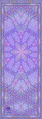 Eco Luxe Starburst Yoga Mat Lilac