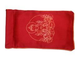 Eye Pillow Red Buddha Orange