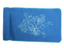 Eye Pillow Navy Ganesha Turquoise