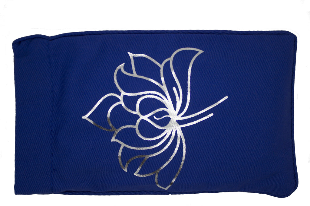 Eye Pillow Navy Lotus 2 Foil